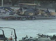intensifican busqueda de tres ladrones  que robaron valiosos equipos pesados de la construccion