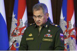 ministro de defensa ruso complacido con mision a siria