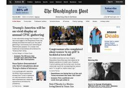 the washington post estrena lema, sobre la democracia