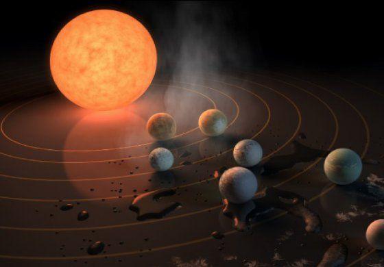En qué se parecen a la Tierra los 7 nuevos exoplanetas anunciados por la NASA