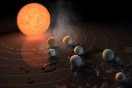 la nasa descubre al menos 7 planetas del tamano de la tierra