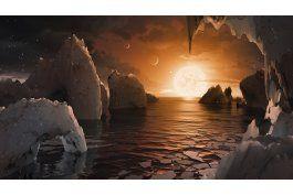 hallan 7 planetas junto a estrella; podrian sostener vida