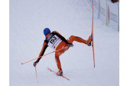 esquiador venezolano enfrenta reto en pendientes finlandesas