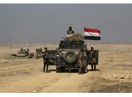 fuerzas iraquies controlan la mitad del aeropuerto de mosul