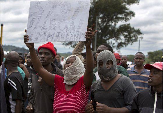 Estallan protestas antiinmigrantes en capital de Sudáfrica