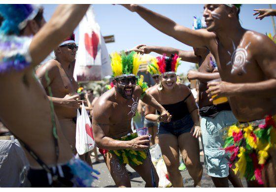 Arranca carnaval de Río de Janeiro