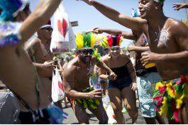 arranca el carnaval de rio de janeiro