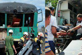6 muertos y unos 50 heridos en accidente ferroviario en cuba