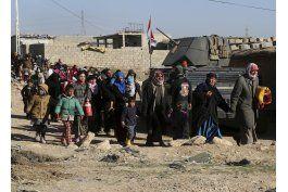 fuerzas iraquies hallan fuerte resistencia en oeste de mosul