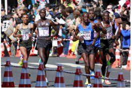 wilson kipsang encabeza dominio keniata en maraton de tokio