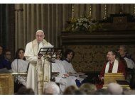 francisco es primer papa en ir a iglesia anglicana en roma