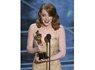 emma stone gana el oscar a la mejor actriz por la la land