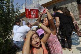chile: escasez de agua y 19 desaparecidos por aluviones