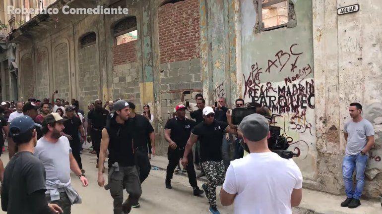 Así se grabo del video de Enrique Iglesias Súbeme la Radio  en La Habana, Cuba