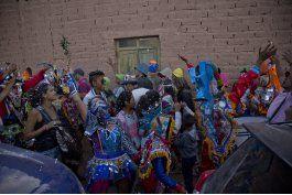 argentina: en carnaval de uquia, el protagonista es diablo