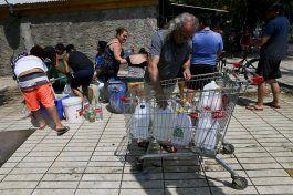 chile: escasez de agua y 28 desaparecidos por aluviones