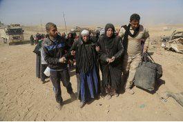 onu: 8.000 huyen por combates entre ejercito y ei en mosul