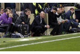 zidane: el madrid no piensa en los arbitros