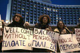 sindicatos protestan austeridad en grecia