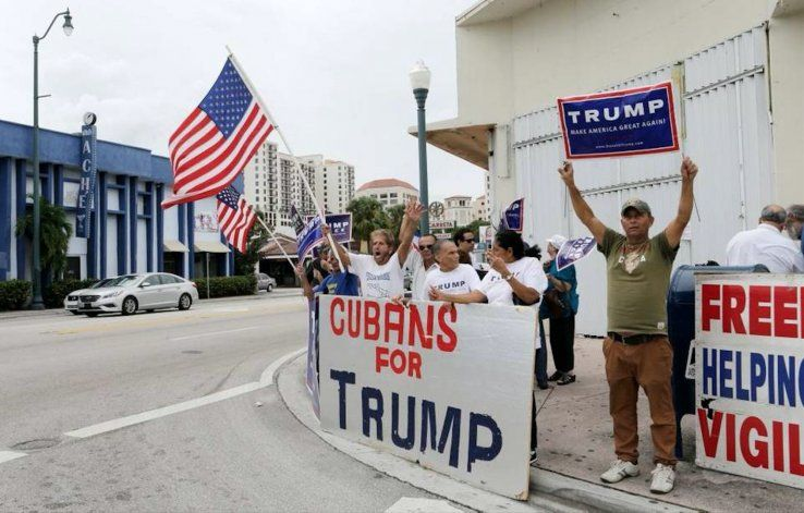 Cubanos en Miami reaccionan a las nuevas medidas contra la dictadura cubana