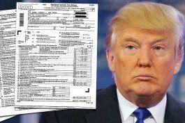 trump gano 153 millones y pago 36,5 en impuestos en 2005