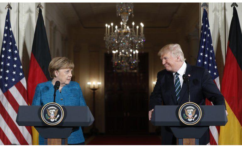 Trump dice que Alemania le debe mucho dinero a la OTAN