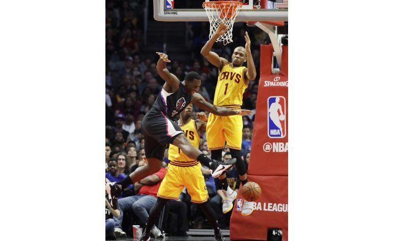 NBA: Griffin y Clippers apabullan 108-78 a Cavaliers