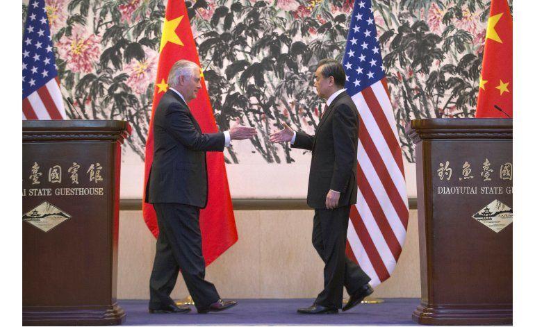 Tillerson elogia los contactos China-EEUU en reunión con Xi