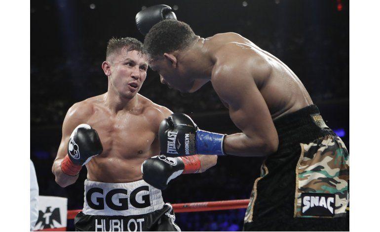 Golovkin se exige hasta al límite para vencer a Jacobs