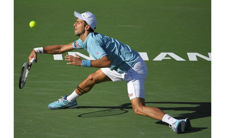 Djokovic se baja de Miami por dolencia en el codo