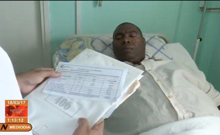 Hospitales en Cuba  comienza a entregar a los pacientes facturas simbólicas