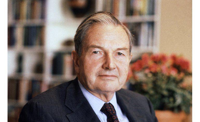 Falleció David Rockefeller, conocido millonario y filántropo