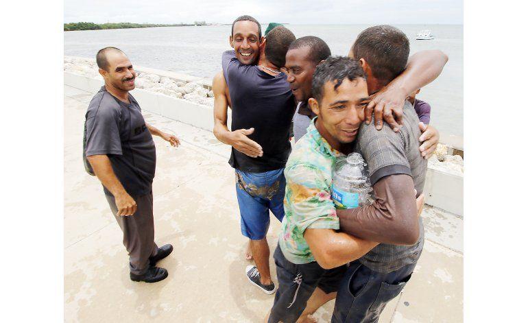Decenas de cubanos aún intentan llegar por mar a EEUU
