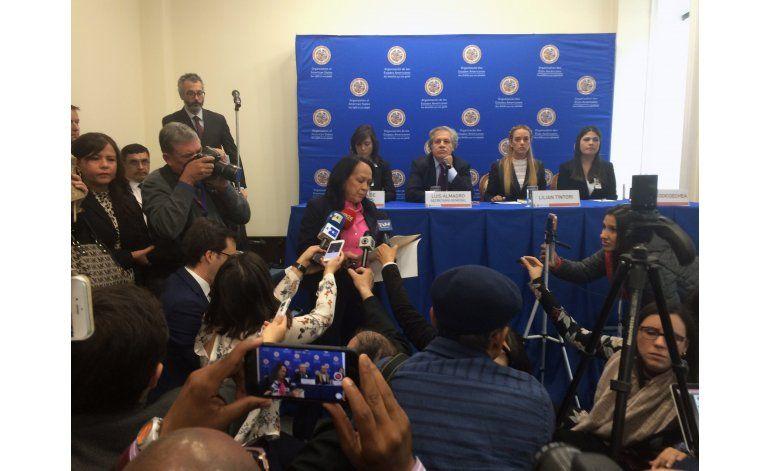 Almagro busca votos en OEA para actuar sobre Venezuela