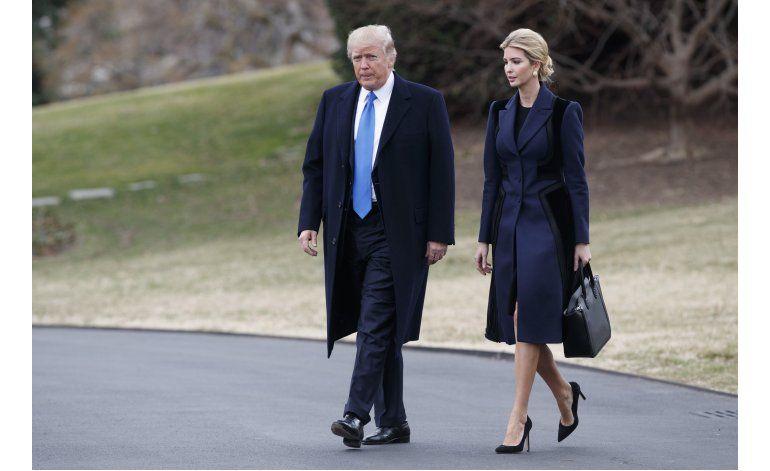 Ivanka Trump cuenta con oficina en la Casa Blanca