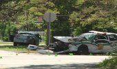 Gravemente heridos un policía y otra persona tras choque entre una patrulla y otro auto