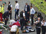 ataque terrorista en londres deja varios muertos y heridos