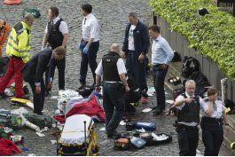 lo ultimo: cinco muertos en el atentado de londres