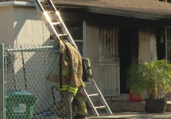 Incendio afectó vivienda del NW de Miami