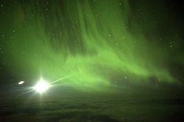 un viaje solo por las vistas: la aurora austral