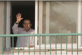 egipto: mubarak regresa a su casa tras anos detenido