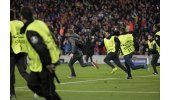 UEFA multa al Barcelona por celebración del 6-1 en la cancha