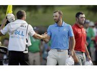johnson barre la serie de torneos mundiales del golf
