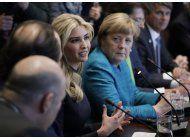 ivanka trump asistira a cumbre economica femenina en berlin