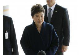 fiscalia surcoreana pide orden para detener a expresidenta