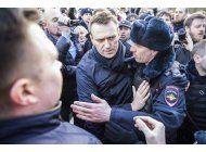 carcel a lider opositor ruso por organizar protestas