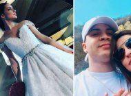 ¿alarma de boda? mira el impresionante vestido de novia de mily aleman