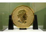 roban una inmensa moneda de oro de museo aleman