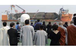 seul halla supuestos restos de muertos en naufragio de ferry