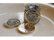 gran bretana estrena moneda de una libra que tiene 12 lados
